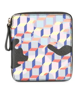 Pierre Hardy | Checked Wallet Womens Canvas/Leather