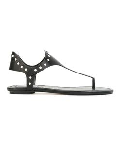 Jimmy Choo | Dara Sandals Womens Size 36 Calf Leather/Leather/Metal Other