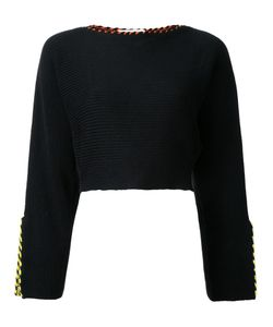 Toga | Slit Sleeves Jumper Womens Size 36 Cotton/Polyester