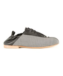 Wooyoungmi | Panelled Sneakers Mens Size 41 Leather/Mohair