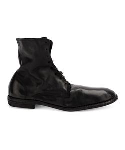 Guidi | Crease Effect Boots Mens Size 44 Horse Leather/Leather/Rubber