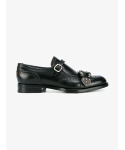 Gucci   Queercore Brogue Monk Shoes Mens Size 9 Leather