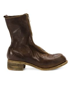 Guidi | Front Zip Boots Womens Size 37 Horse Leather/Leather