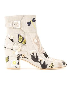 Laurence Dacade   Tropical Boots Womens Size 36 Cotton