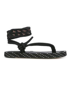 Isabel Marant | Étoile Epipa Sandals Womens Size 36 Leather/Polyester