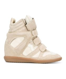 Isabel Marant | Étoile Beckett Hi-Top Sneakers Womens Size 39 Suede/Leather/Rubber