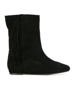 Jérôme Dreyfuss | Paz Boots Womens Size 37 Leather/Suede