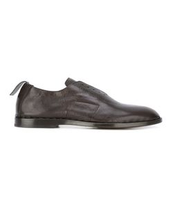 Measponte   Laceless Oxfords Mens Size 42 Calf Leather/Leather/Rubber