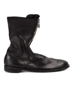 Guidi | Front Zip Boots Mens Size 45 Horse Leather/Leather/Rubber