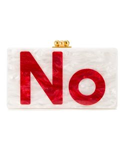 Edie Parker | Yes No Clutch Womens Acrylic