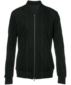Devoa | Zip Up Striped Jacket Mens Size 3 Cotton/Polyester