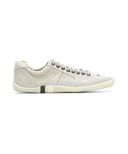 Osklen | Leather Sneakers Mens Size 41 Leather/Linen/Flax