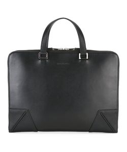 Dior Homme   Logo Embossed Briefcase Leather