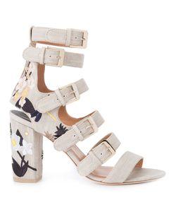 Laurence Dacade   Dana Sandals Womens Size 39.5 Suede