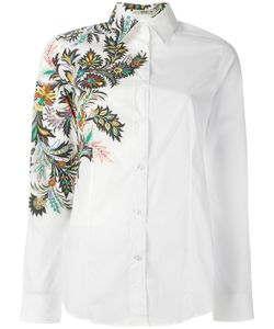 Etro | Embroide Shirt Womens Size 44 Cotton/Spandex/Elastane