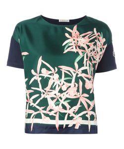 Moncler | Print Top Womens Size Xs Silk/Cotton