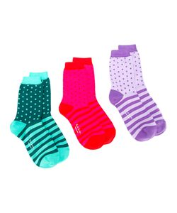 Paul Smith | Striped Sock Pack Womens Cotton/Spandex/Elastane/Polyimide