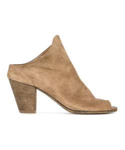 Officine Creative | Heeled Mules Womens Size 37.5 Suede/Leather/Rubber