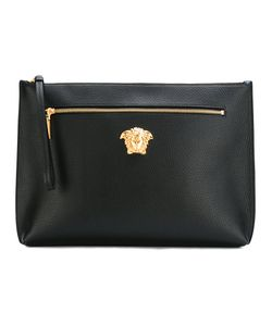Versace | Palazzo Wristlet Clutch Mens Calf Leather