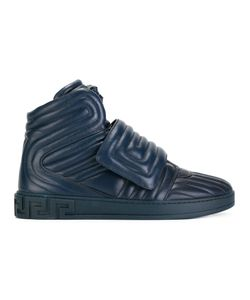 Versace | Medusa Head High-Tops Mens Size 42 Leather/Rubber