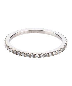 Wouters & Hendrix Gold   Full Diamond Ring Womens Size 54