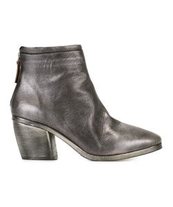 Marsèll | Rear Zip Ankle Boots Womens Size 36 Leather/Rubber