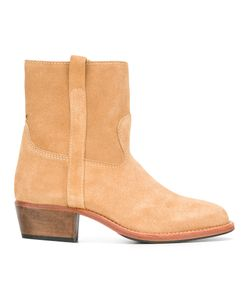 Jérôme Dreyfuss | Jane Boots Womens Size 39 Leather/Rubber/Suede