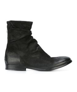 The Last Conspiracy | Gliv Boots Mens Size 44 Leather/Rubber