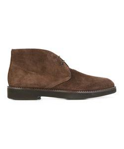 Santoni | Classic Desert Boots Mens Size 8.5 Leather/Suede/Rubber