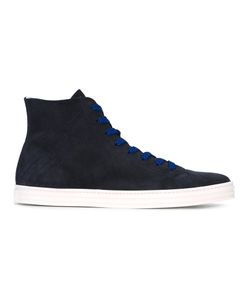 Hogan Rebel | Lace Up Hi-Tops Mens Size 7.5 Suede/Leather/Rubber