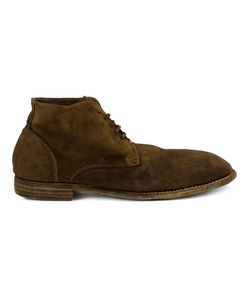 Guidi | Lace-Up Ankle Boots Mens Size 40 Leather/Suede