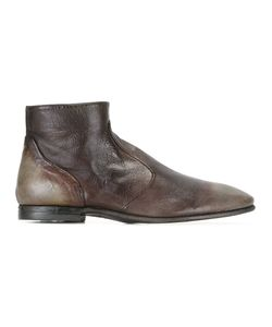 Silvano Sassetti   Ankle Boots Mens Size 7 Leather