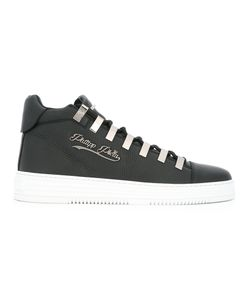 Philipp Plein | Contrast Sole Sneakers Mens Size 40 Leather/Rubber/Metal