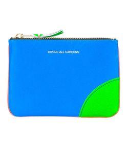 Comme Des Garçons | Wallet Colour Block Zipper Purse Adult Unisex