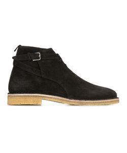 Saint Laurent | Chelsea Boots Mens Size 40 Calf Leather/Suede/Rubber
