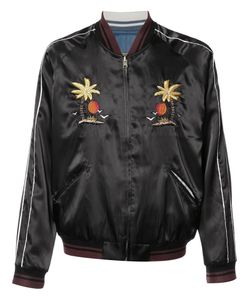 Htc Hollywood Trading Company | Embroide Bomber Jacket Mens Size Medium