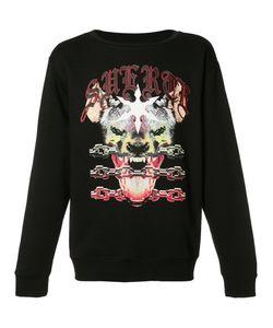Marcelo Burlon County Of Milan | Printed Sweatshirt Mens Size Medium
