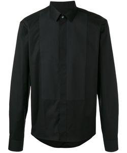 Les Hommes | Paneled Shirt Mens Size 56 Cotton/Spandex/Elastane