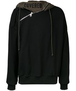Juun.J | Zip Detail Hoodie Mens Size 48 Cotton