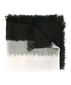 Suzusan | Frayed Edge Scarf Silk