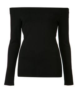 L'agence | Off-The-Shoulder Top Womens Size Medium Viscose/Spandex/Elastane