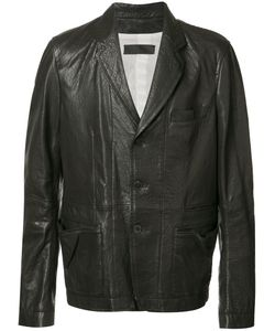 Haider Ackermann | Panelled Jacket Mens Size Small Cotton/Leather
