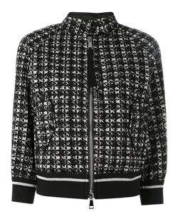 Moncler | Knitted Jacket Womens Size 1 Polyamide/Polyester/Cotton