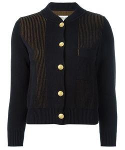 Maison Margiela | Laye Knit Cardigan Womens Size Small Cotton
