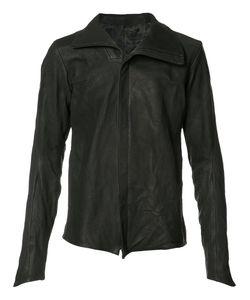 Devoa | Front Zip High Neck Jacket Mens Size 3 Calf