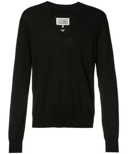 Maison Margiela | Classic V-Neck Jumper Mens Size Medium Cashmere