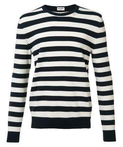 Saint Laurent | Striped Sweater Mens Size Medium Cashmere/Wool