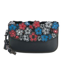 Coach | Embellished Clutch Womens Cotton/Leather