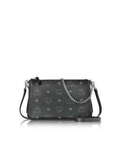 MCM | Millie Visetos Medium Zip Crossbody Bag