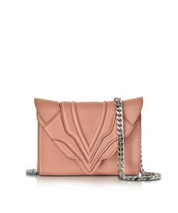 Elena Ghisellini | Felina Mignon Sensua Blush Leather Clutch